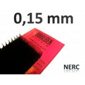 0,15 mm nerc szempillák