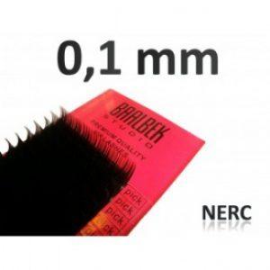 0,10 mm nerc szempillák